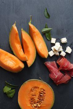 Parma Ham, feta & Melon Salad by The French Lunchbox