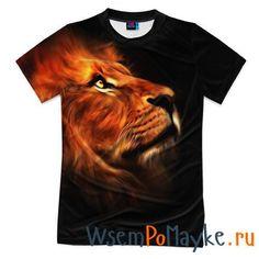 Мужская футболка 3D с полной запечаткой Lion - интернет магазин WsemPoMayke.Ru http://wsempomayke.ru/product/manshortfull/1008679  Доставка по России курьером или почтой, оплата при получении. Мужская футболка 3D с полной запечаткой Lion купить с доставкой, оплата при получении. Посмотреть размеры и цену > http://wsempomayke.ru/product/manshortfull/1008679