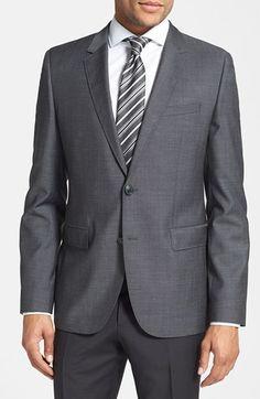 HUGO 'Aeris' Trim Fit Wool Sport Coat available at #Nordstrom