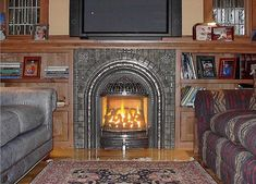 5 Simple and Crazy Ideas: Victorian Fireplace Dark grey fireplace diy.Old Farmhouse Fireplace bright painted fireplace.Fireplace With Tv. Painted Fireplace Mantels, Corner Gas Fireplace, Cabin Fireplace, Shiplap Fireplace, Freestanding Fireplace, Victorian Fireplace, Small Fireplace, Farmhouse Fireplace, Fireplace Remodel