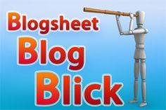 Blogsheet Blog Blick