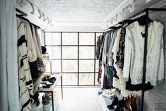 beautiful bohemian trendy eclectic fashion truck white interior design by Brittaney Elise. Bohemian Interior Design, White Interior Design, Boutique Design, Boutique Ideas, Vintage Boutique, Boutique Mobiles, Mobile Fashion Truck, Truck Interior, Rustic Contemporary