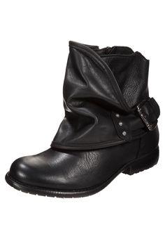 SPM - TOMAIA - Cowboy-/ Bikerstiefelette - black