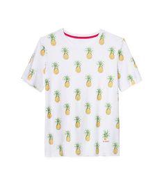 pineapple print tshirt