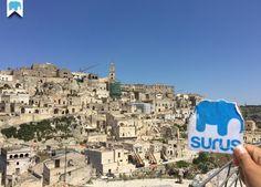 """#Surus a #Matera nota con gli appellativi di """"Città dei Sassi"""" e """"Città Sotterranea"""" e Capitale Europea della Cultura 2019 (Italia) / Surus in Matera known as the """"Subterranean City"""" or """"Stones city""""  European Capital of Culture 2019 (Italy) ☛ www.surus.org"""