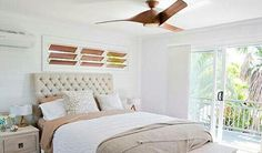 Beach Style Bedroom on House Rules