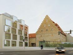 Bruno Fioretti Marquez Architekten — Biblioteca Ebracher Hof, Schweinfurt