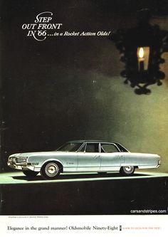 1966 Oldsmobile Ninety-Eight - Elegance in the grand manner! - Original Ad