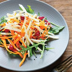 """Signature Chicken Salad- perfect balance of alkaline and acidic ingredients. By Michelle Schoffro Cook From Seconds to Slim"""" January/February 2015 Raw Food Recipes, New Recipes, Cooking Recipes, Healthy Recipes, Recipies, Chicken Salad Recipes, Salad Chicken, Carrot Salad, Salmon Salad"""