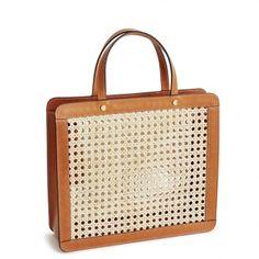 ea845531f2ed rattan bag by Palmgrens Me Bag
