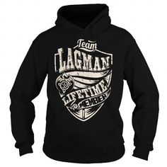 I Love Team LAGMAN Lifetime Member (Dragon) - Last Name, Surname T-Shirt Shirts & Tees