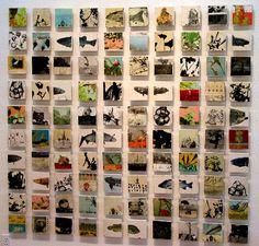 Michael Cutlip - Hide-A-Way Series #collage #art