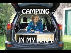(208) 2014 Rav4 Sleeping Platform and Drawer - Keeping Rear Seats - YouTube