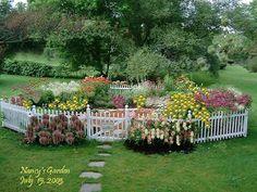 A beautiful flower garden