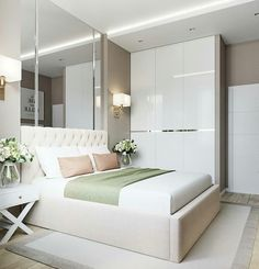 3 Amazing and Unique Tricks: Minimalist Interior Style Modern Living minimalist home scandinavian lamps.Minimalist Bedroom Design Dream Closets minimalist home bedroom shelves.Minimalist Bedroom Pink Home Office. Blue Bedroom, Closet Bedroom, Trendy Bedroom, Modern Bedroom, Bedroom Decor, Bedroom Storage, Bedroom Organization, Organization Ideas, Bedroom Ideas