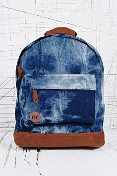 Mi-Pac Tie Dye Backpack in Denim