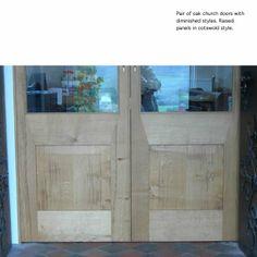 fine doors with glass panels