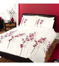 Image for Oriental Flower Duvet from studio