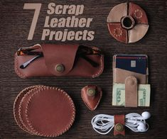 If you've been following me recently, you've noticed that I like to make things out of leather. Consequently, I've accumulated a lot of scrap leather that I haven't...