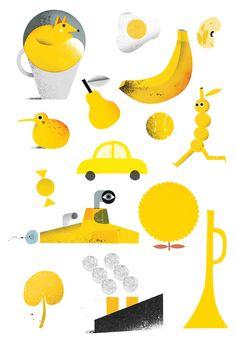 Various Random illustrations by Philip Giordano, via Behance