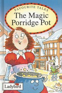 Ladybird Favourite Tales - The Magic Porridge Pot - Hardcover - S/Hand
