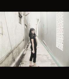 a girl, @farahzahraa