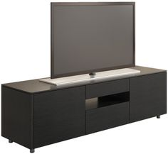 Australian designed compact entertainment unit from Australian Home Living. Black Oak veneer finish with a black interior. High quality hardware and fittings.