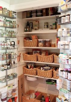 Large pantry cupboard ~ you need to remember to make use of the back of the cabin … – Own Kitchen Pantry Kitchen Redo, Rustic Kitchen, New Kitchen, Kitchen Remodel, Kitchen Design, Pantry Design, Kitchen Ideas, Pantry Cupboard, Kitchen Pantry