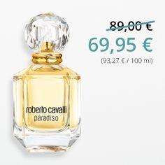 #Paradiso von Roberto #Cavalli im #Preisvergleich – Pure Lebensfreude an einem Sommerabend in einer italienischen Kleinstadt. Der luxuriöse Duft versprüht energiegeladene Leichtigkeit.