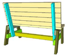 DIY Garden Seat Plans | Woodworking Session