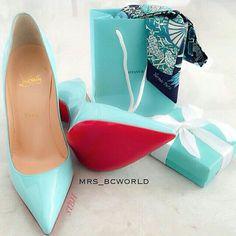 Tiffany blue shoe(s)