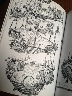 Ian McQue — 'Mechs & The City' - Another Book of Drawings by Ian McQue''