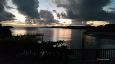 Atardecer en Roatan, Bay Islands