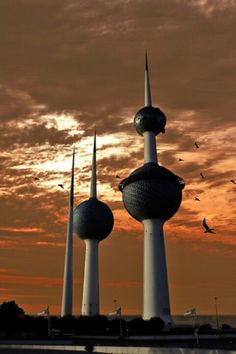 #Kuwait towers #MiddleEast #architecture