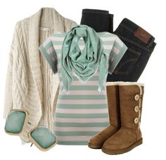 """Cozy Mint"" by qtpiekelso on Polyvore"