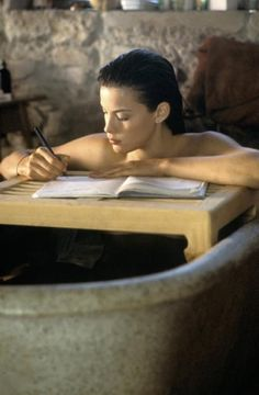 """ Liv Tyler, ""Stealing Beauty"",directed by Bernardo Bertolucci - 1996 "" She's strong because she knows what it's like to be weak."