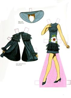 Fashion Model PD* 1500 free paper dolls at Arielle Gabriel's International Paper Doll Society for Pinterest paper doll pals *