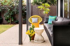 Cottesloe House coastal style design by Collected Interiors - outdoor