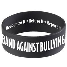 Band Against Bullying | Positive Promotions * SAVE 10% when you enter promo code RRW14 at checkout