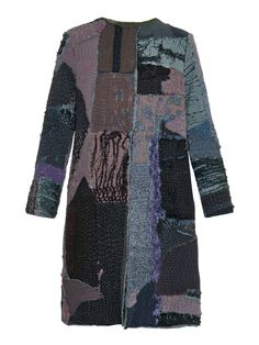 Gigi vintage patchwork Chinese-silk coat | By Walid | MATCHESFASHION.COM UK