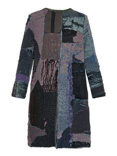 Gigi vintage patchwork Chinese-silk coat | By Walid | MATCHESFASHION.COM UK