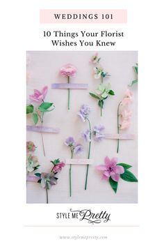 If youve been pinning gorgeous bouquets and intricate centerpieces for years, youre probably the type of bride whos put a lot of thought into her wedding flowers. But there are still a few things you need to know before making the floral decisions for your wedding. Here are ten insider tips that wedding florists would like you to keep in mind before your big day!  #weddingflowers #weddingflorals #weddingplanning #weddingtips