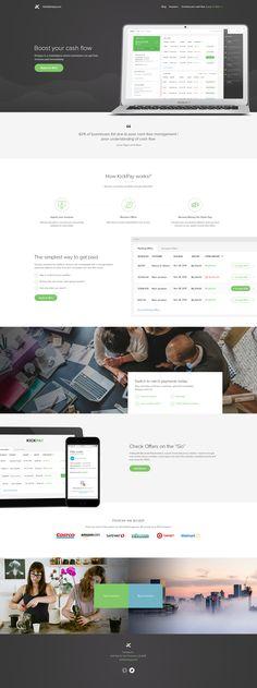 Kickpay Homepage by Balkan Brothers | Dribbble