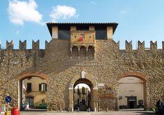 Porta San Lorentino, Arezzo city, Tuscany, Italy