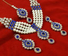 Traditional Indian Beautiful Bollywood Cz Necklace Set Bridal Ethnic Jewelry