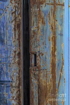 Rust On Blue Photograph