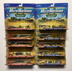 Tanks and Military Vehicles 171138: Micro Machines Collection Lot, Micro Machines Military, Micro Machines Lot Of 10 -> BUY IT NOW ONLY: $219.99 on eBay!