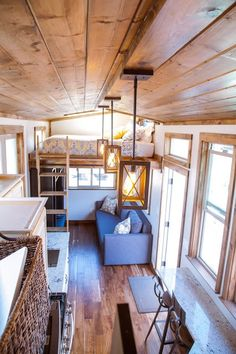 Tiny house with loft the home by alpine tiny homes features full sized appliances including a . tiny house with loft Tiny House Big Living, Tiny House Loft, Building A Tiny House, Tiny House Plans, Tiny House On Wheels, Tiny House Design, Tiny Loft, Tiny House Appliances, Casa Loft