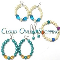 Deal 235 1 Pair of Pearl Earring and 2 Pair of Baali with 1 Bracelet Price Rs:800