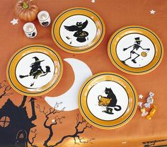 pfaltzgraff halloween mug and plate set pottery barn halloween plate set tag night owl serving platter west elm